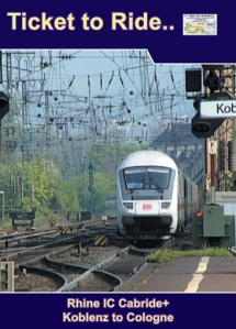 TTR029-1 Cabride+ IC part 1 Koblenz to Cologne