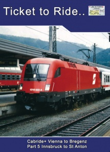 TTR076 OBB EC Cabride+ part 5 Innsbruck to St Anton. The Arlberg 1.