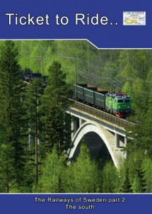 TTR119 Swedish railways part 2 the south
