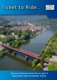 TTR236 German Railways from the air part 5- Mannheim & the Neckar Valley