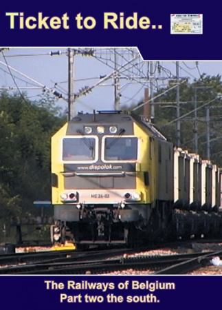 TTR020-2 Belgian Railways part 2 the south and Luxembourg