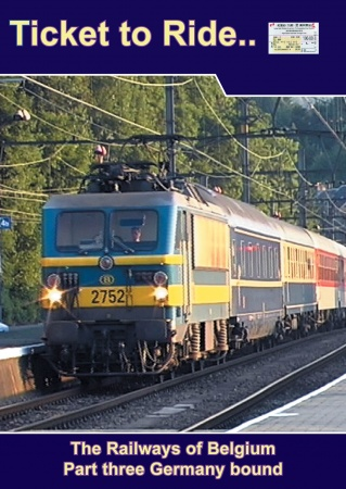 TTR020-3 Belgian Railways part 3 Germany bound