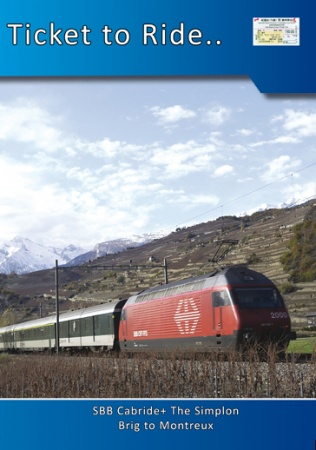 TTR094 SBB Cabride+ The Simplon Brig to Montreux